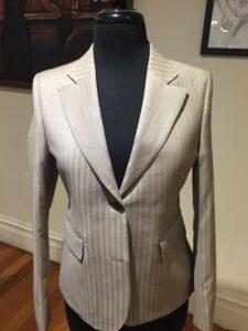 Women's Striped Suit